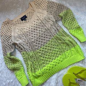 AEO spring sweater